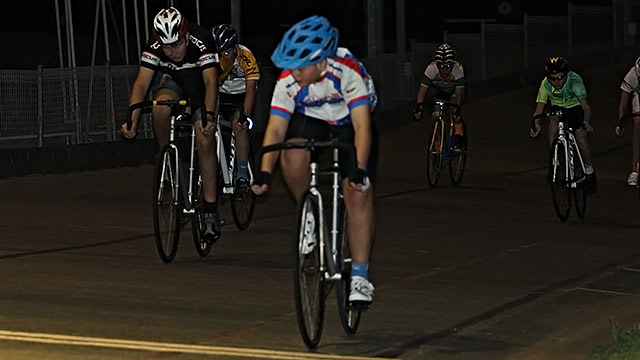 The junior B 1 lap handicap saw a win to Max Slinger (60) just ahead of Michael Eastwood (15) and Caleb Jans (10).