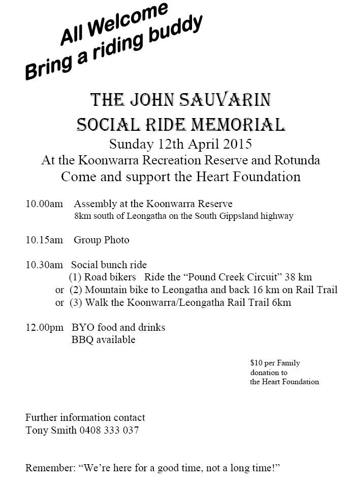 John Sauvarin 2015