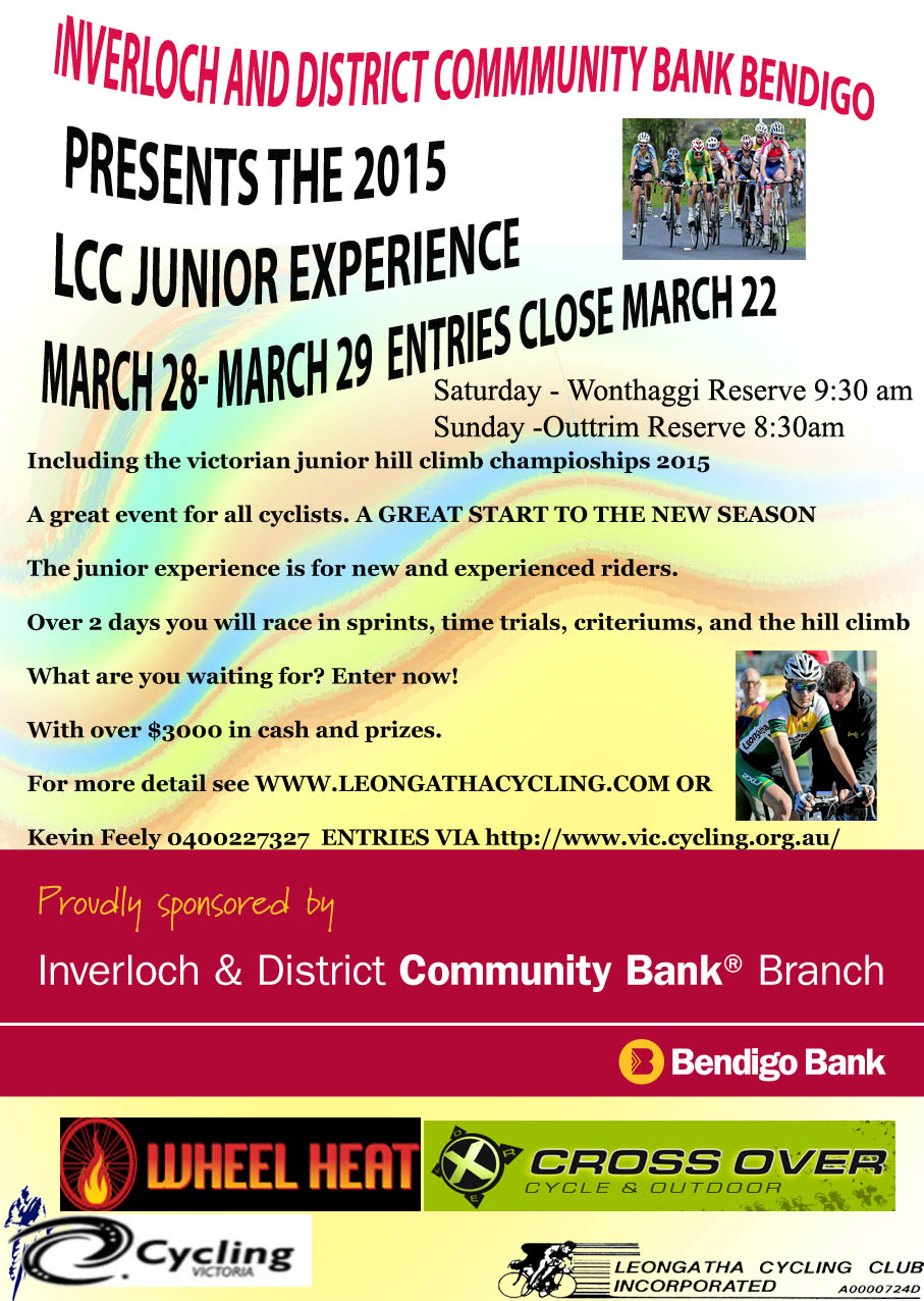 Junior Experience Poster 2015