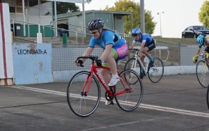 """""""The juniors raced a 1 lap handicap and Felicity Waddell (40)  won from Josh Wight (35) whilst Oliver (scr) dashed past for 3rd place. """""""